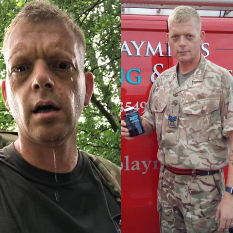Paul soldier military muscle testimonial