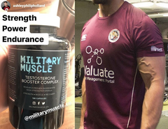 ashely holland military muscle testimonial