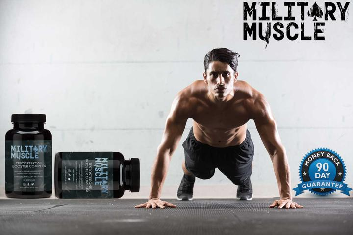 Military Muscle 90 day money back guarantee