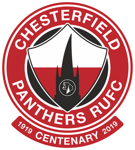 chesterfield panthers rufc centenary badge