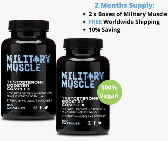 military muscle 2 month supply