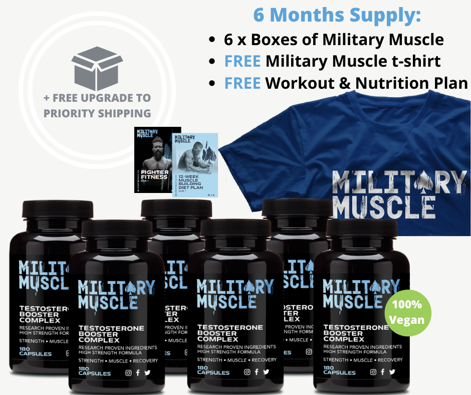 Military Muscle 6 month performance package