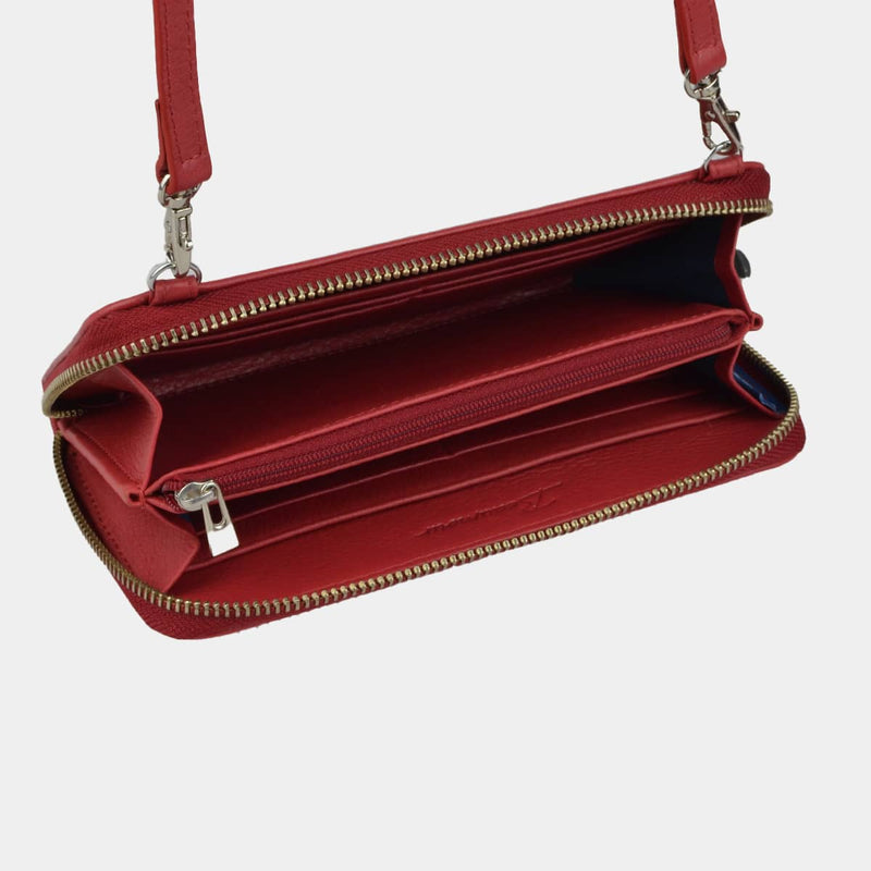 POCHETTE smartphone BEAUMOUR ROUGE