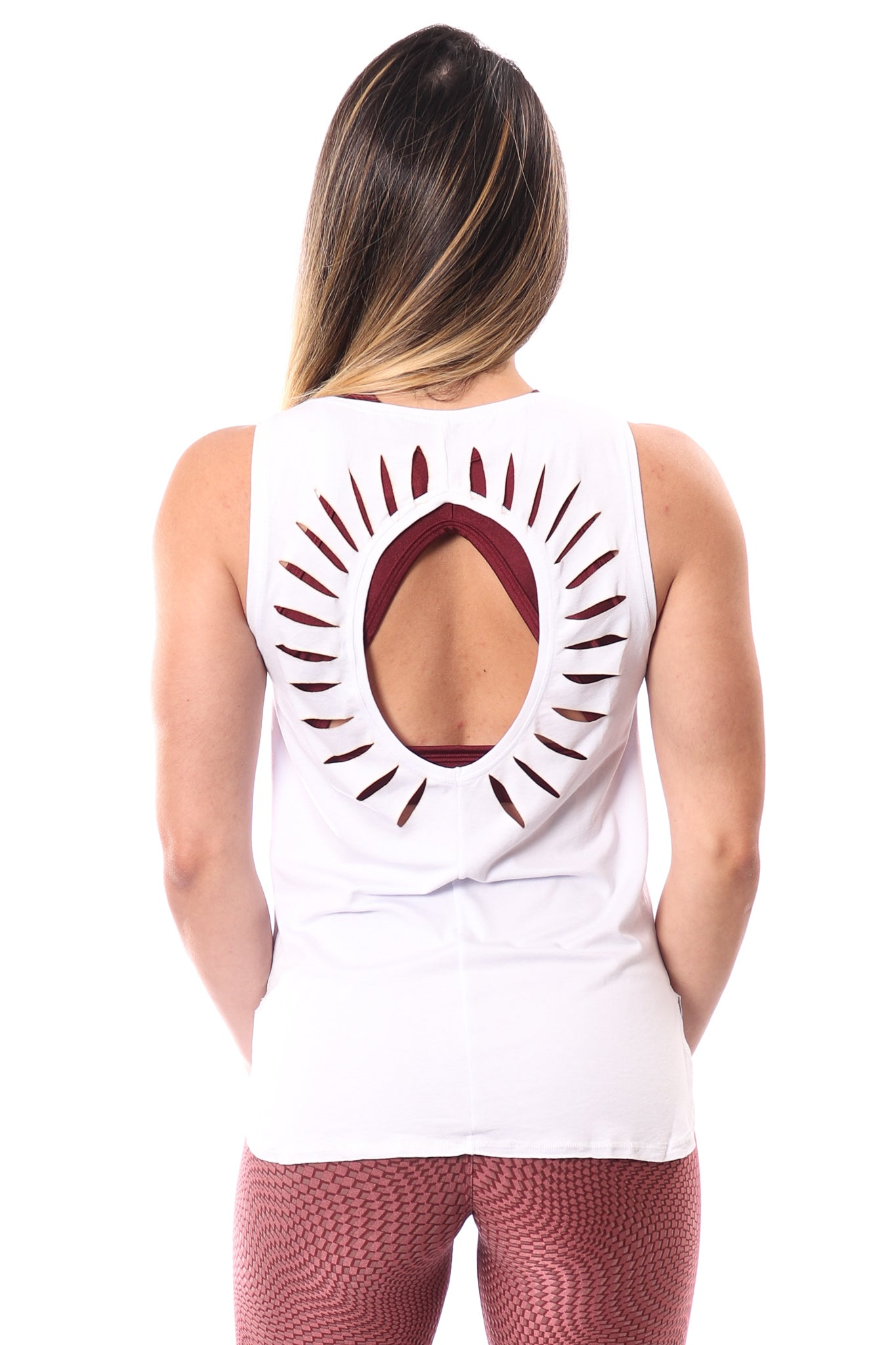 Sunshine Tank Top - White