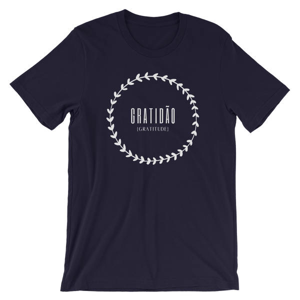 GRATIDÃ0, With Translation, Short-Sleeve Men's & Women's T-Shirt