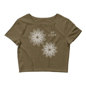 Só Love - Women's Crop Tee