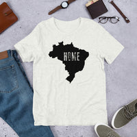 Home, Brasil, Men's Short-Sleeve T-Shirt