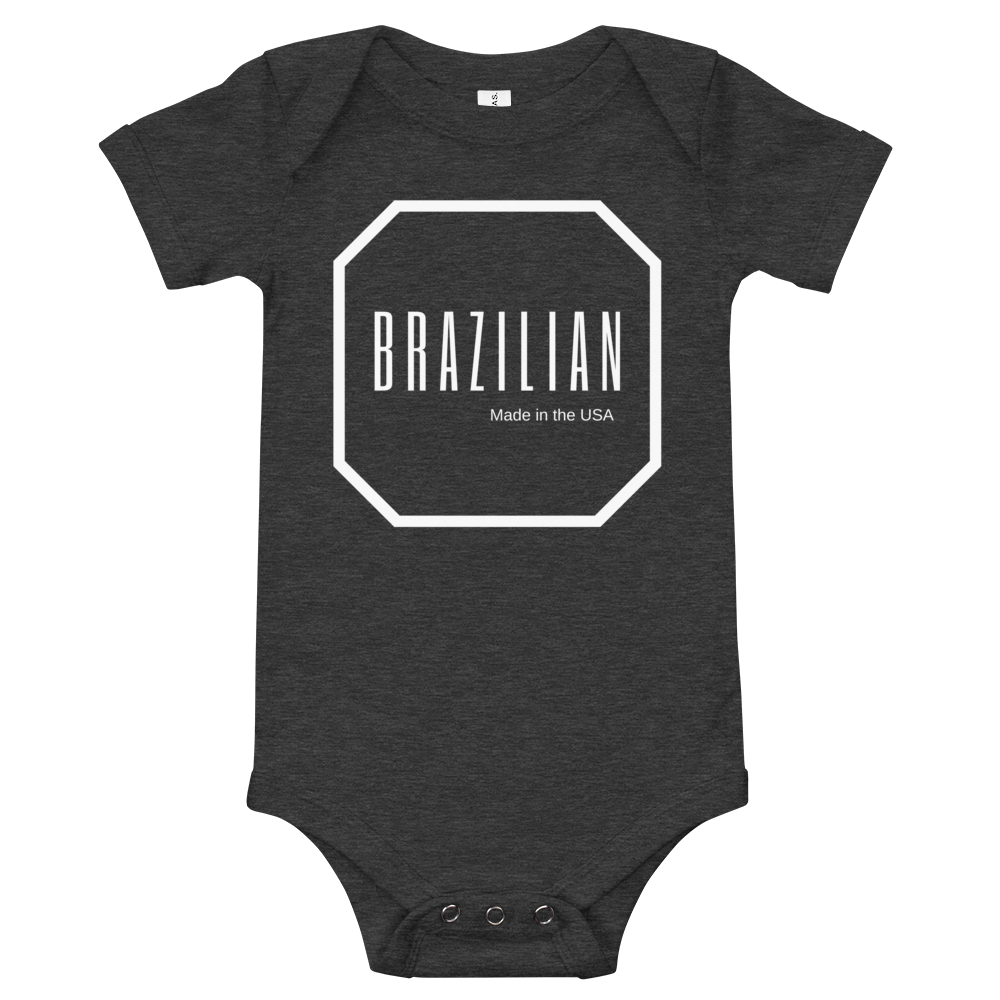 Brazilian - Made in the USA, Baby Onesie