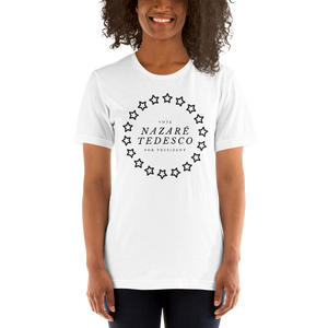 NAZARÉ TEDESCO for President, Short-Sleeve Women's T-Shirt