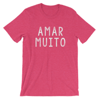 Amar Muito, Men's & Women's Short-Sleeve T-Shirt