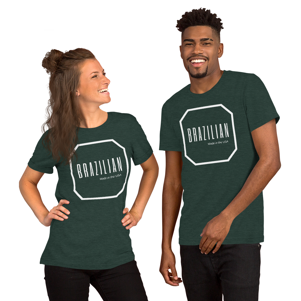 Brazilian, Made in the USA, Short-Sleeve Men's & Women's T-Shirt