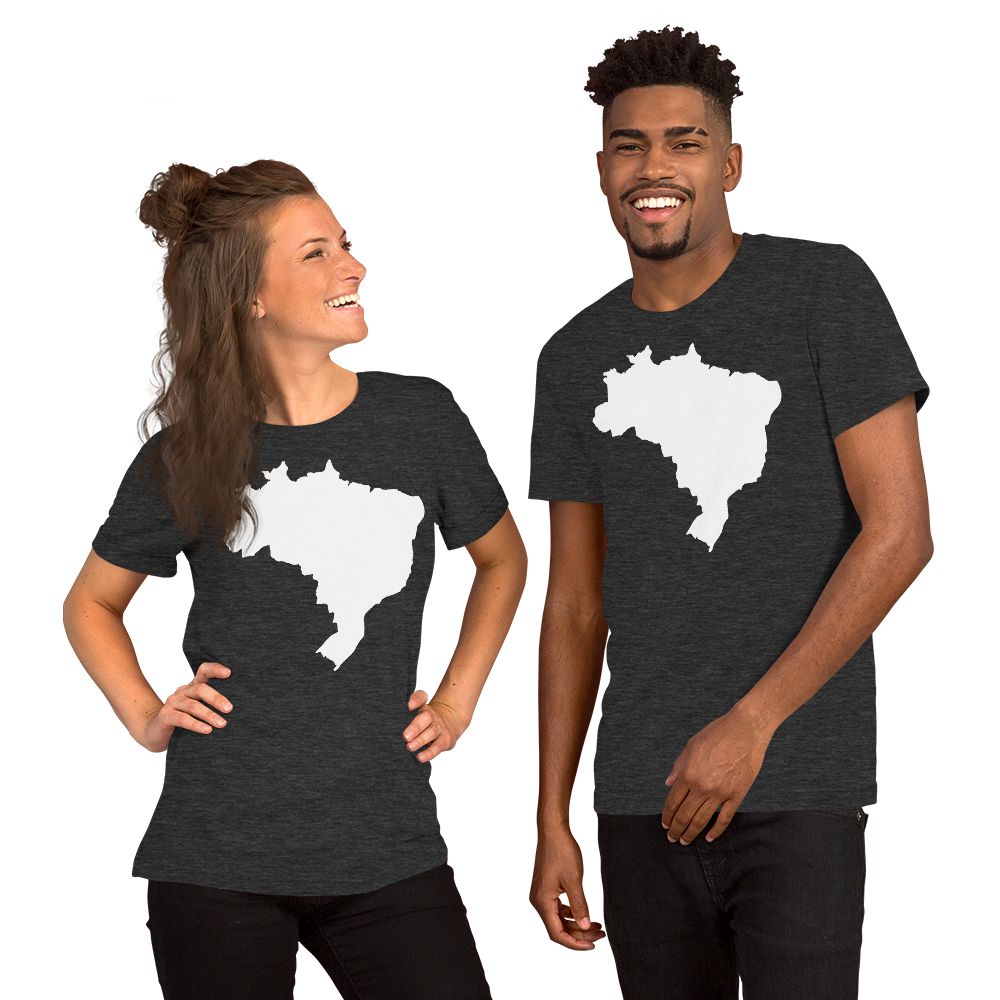 Brasil, Short-Sleeve Men's & Women's T-Shirt