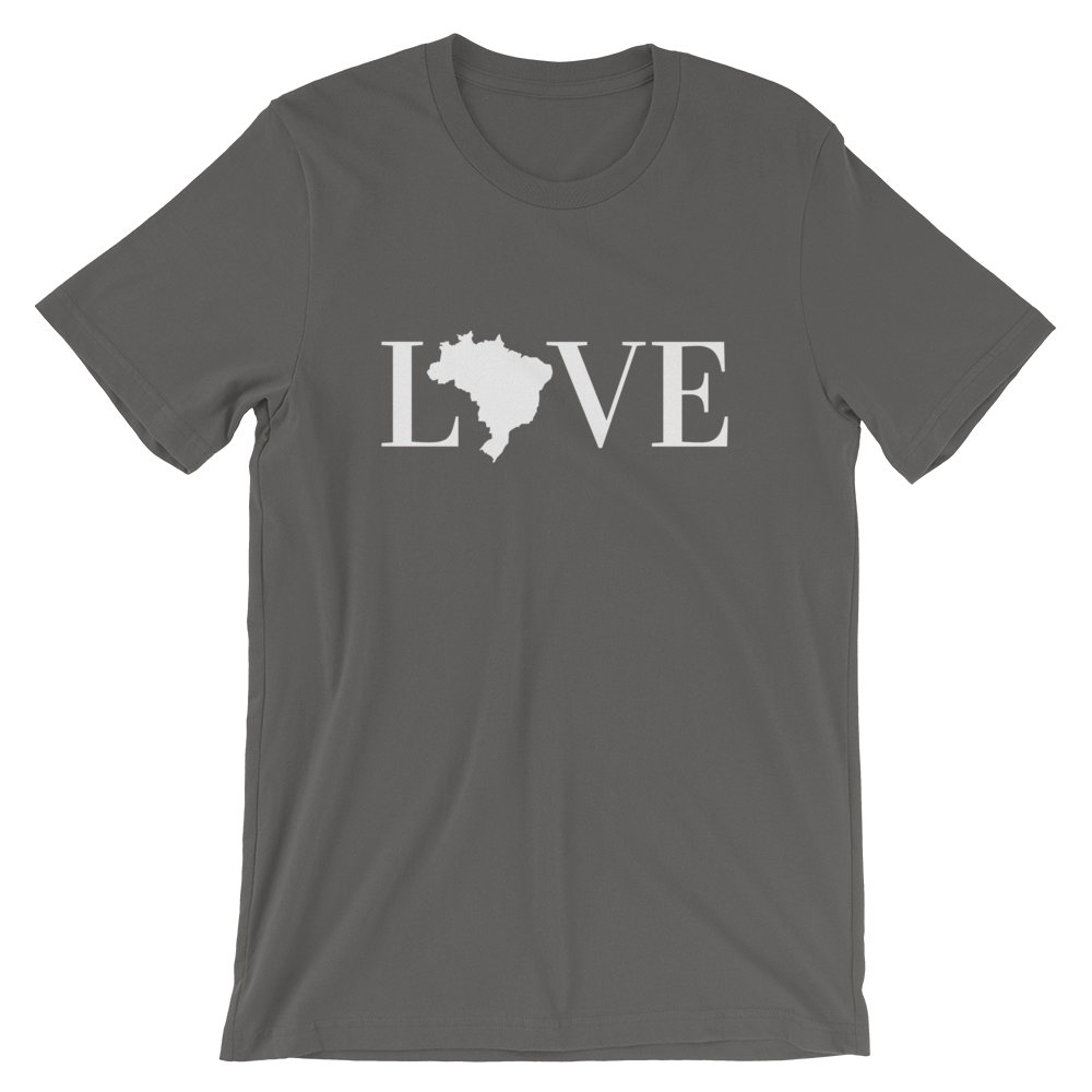 LOVE Brasil, Men's & Women's Short-Sleeve T-Shirt