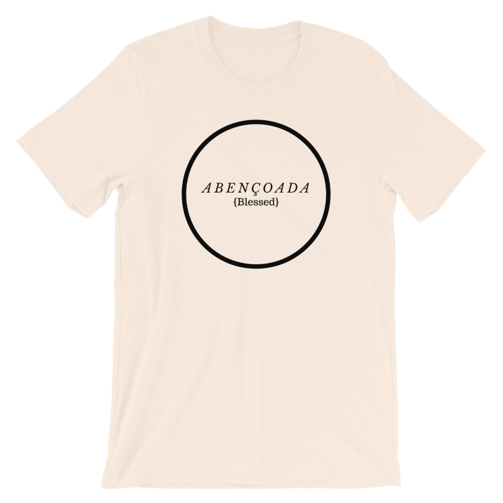 ABENÇOADA, With Translation, Short-Sleeve Women's T-Shirt