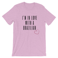 I'm in love with a Brazilian, Men's & Women's Short-Sleeve T-Shirt