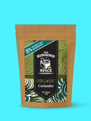 Organic Coriander freeshipping - The Singing Spice Company
