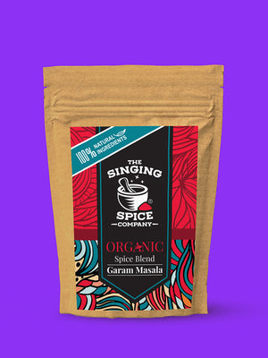 Organic Garam Masala Blend (pack of 3) freeshipping - The Singing Spice Company