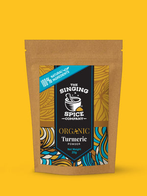 Organic Turmeric freeshipping - The Singing Spice Company