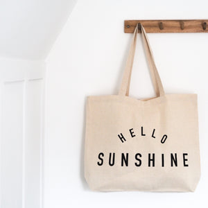 Hello Sunshine Tote - Black