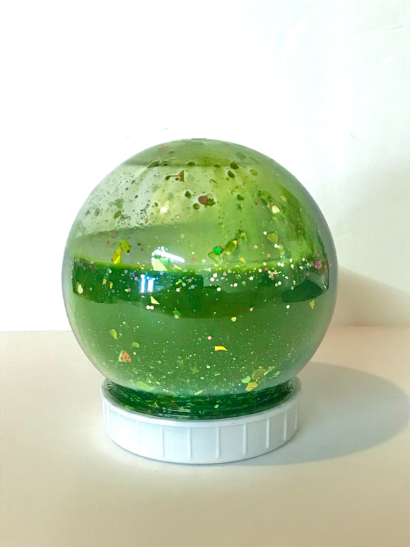 Christmas Snowglobe Slime | stocking stuffer | all colors | clean Slime