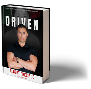 DRIVEN HardCover & AudioBook Combo Pre-Order
