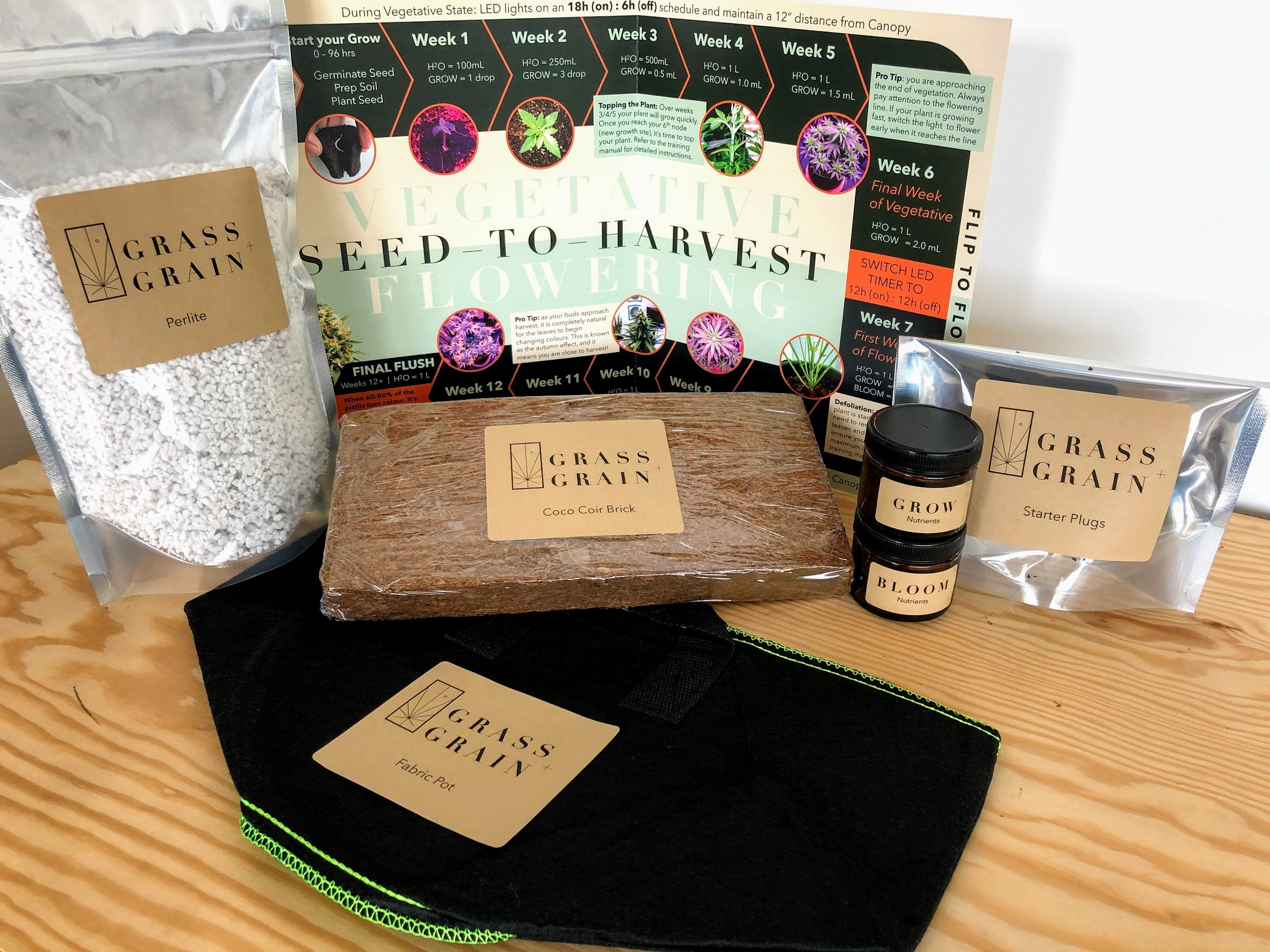 Grow Kit for your Grow Cabinet