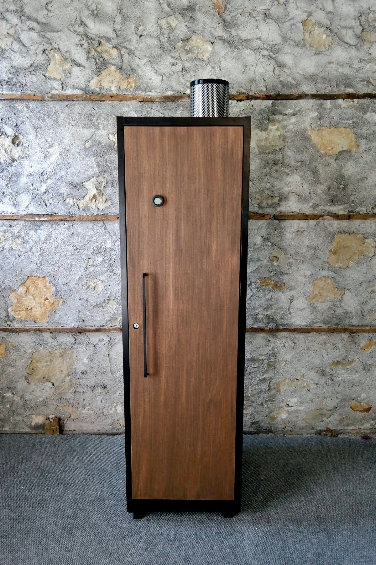 Grow Cabinet | Single Door | Black