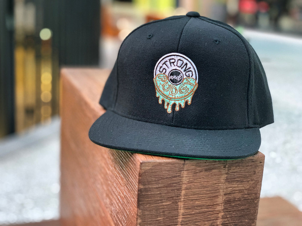 Fresh Mint Chocolate Chip Ice Cream Drip Snapback