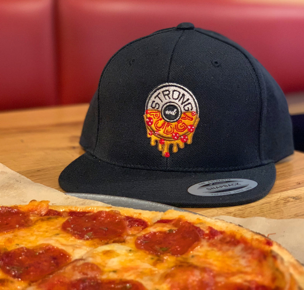 Pepperoni Cheesy Drip Pizza Snapback