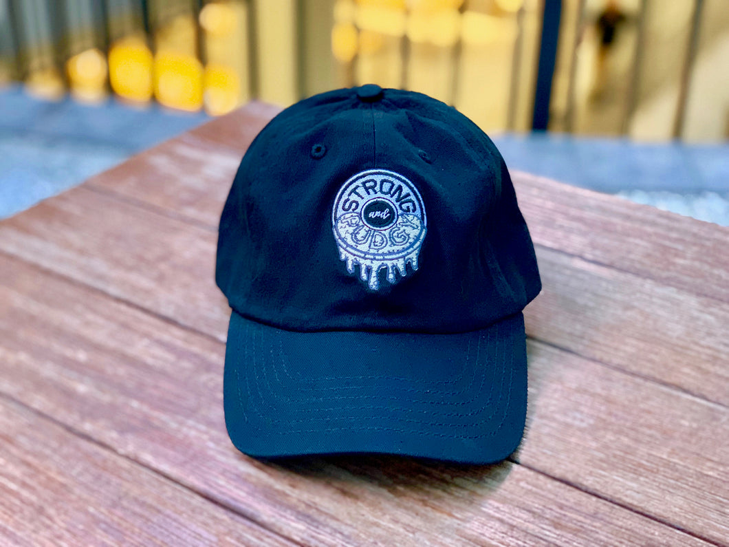 Cookies 'N Creme Dad Hat (Black)