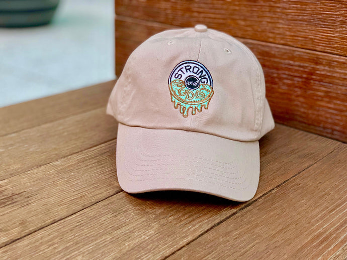 Fresh Mint Chocolate Chip Dad Hat (Tan)