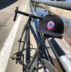 Pink Frost Donut Drip Snapback