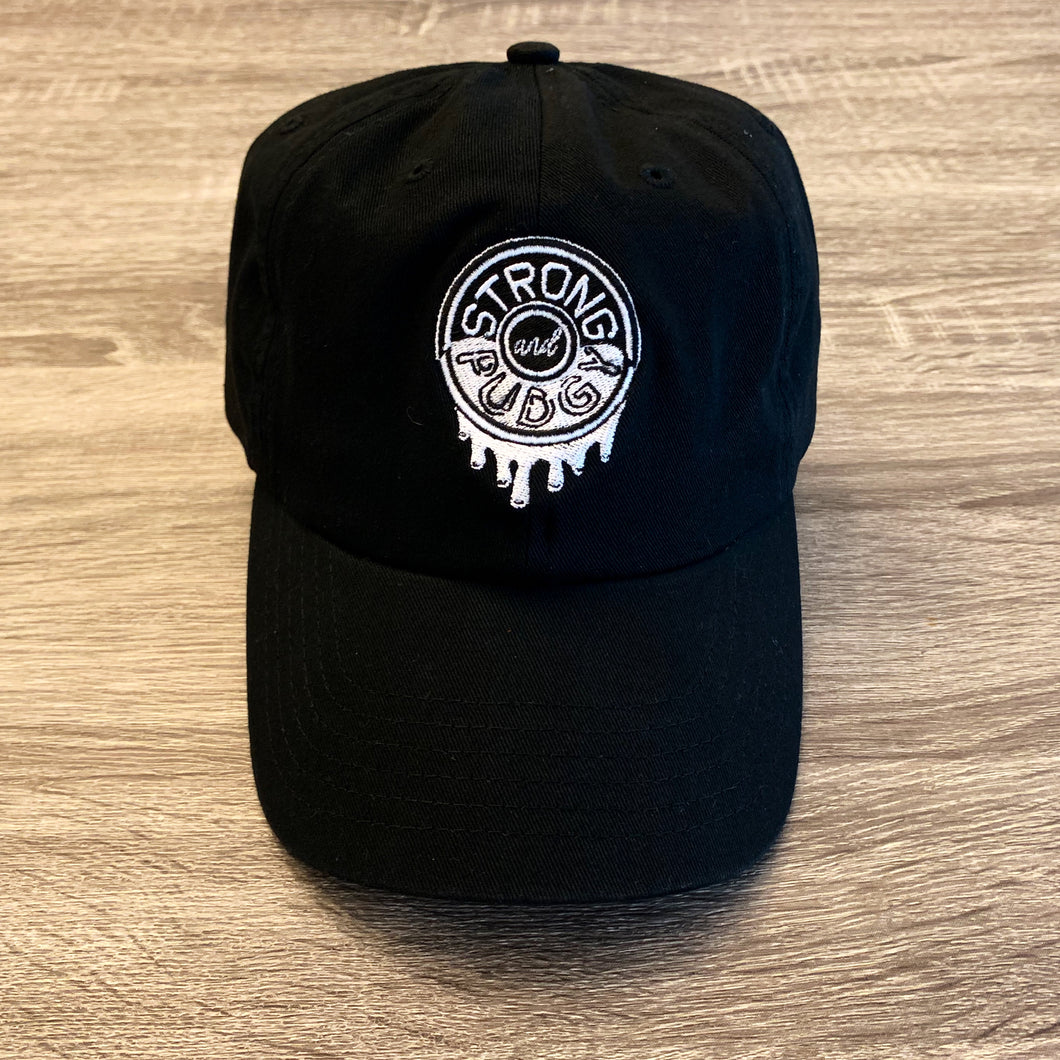 Powdered Donut Logo Dad Hat