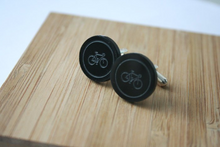 Load image into Gallery viewer, Bicycle Cufflinks