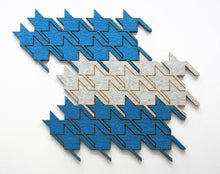Load image into Gallery viewer, Houndstooth Trivets