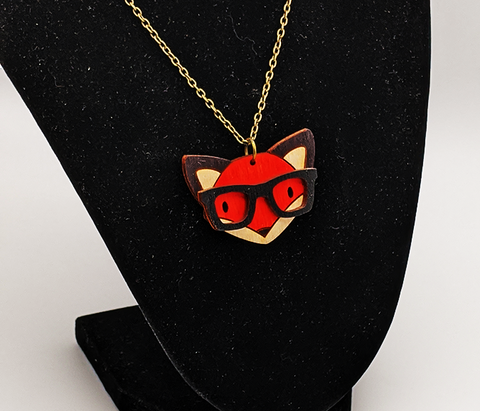 Nerdy Fox Necklace
