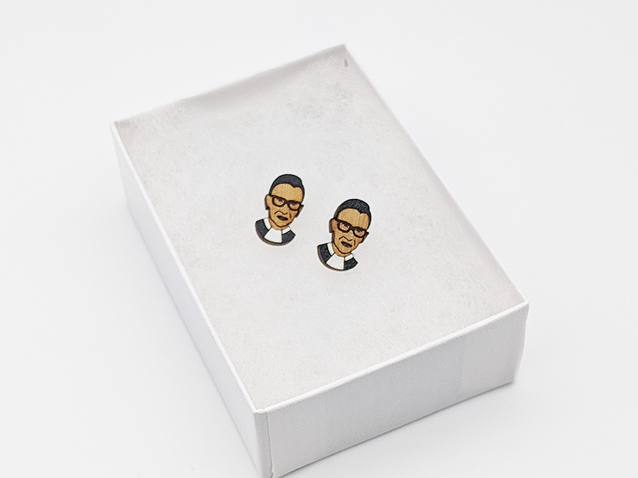 Notorious RBG Earrings