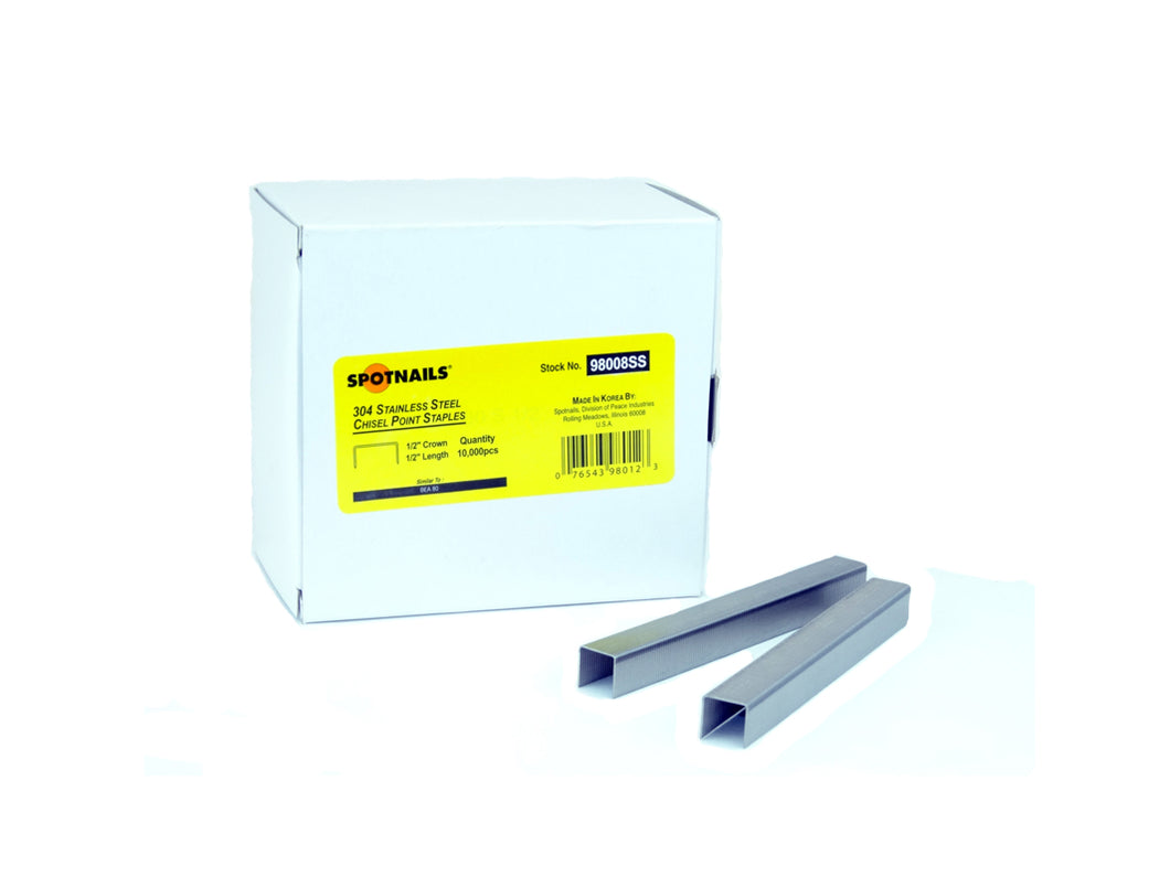 Spotnails 98008SS Stainless STeel Staples
