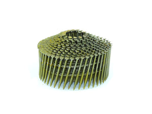 "Cone Nails .083 x 2"" 15 Degree Wire Cone Coil Ring Nails - Spotnails CWC6D083R (11,200)"