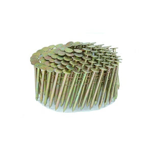 "Coil Roofing Nails 1"" x .120"" 15 Degree Wire Cone Nails (7,200) - Spotnails CRN08G"