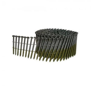 "Coil Nails .120 x 3""  15 Degree Wire Flat Coil Fencing Siding RIng Nails - Spotnails CW10D120R (3,600)"