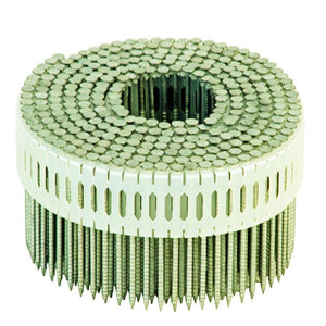 "Plastic Insertion Nails .092"" x 1-7/8"" Galvanized Ring Nails - Spotnails CPD5.5D092RG (9,000)"