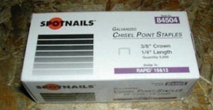 Spotnails 84504 Rapid 13 Staples