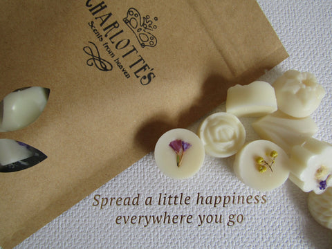 Vanilla Natural Scented Soy Wax Melts