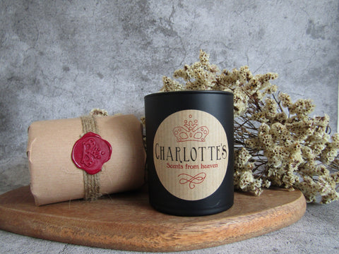 Jasmine & Vanilla Natural Scented Soy Wax Candle