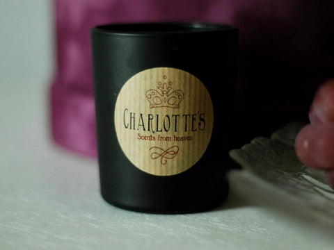 Image of Raspberry Natural Scented Soy Wax Candle