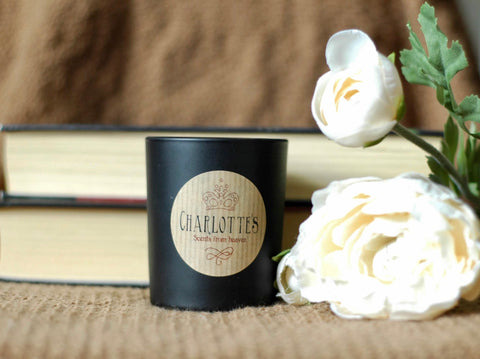 Image of Rose & Sandalwood Natural Scented Soy Wax Candle