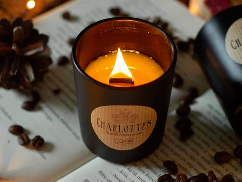 Belgian Chocolate Natural Scented Soy Wax Candle