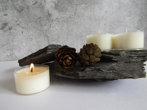Unscented Soy Wax Tealights