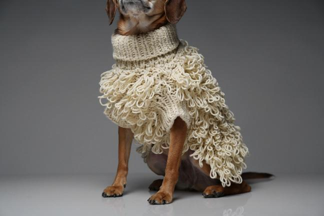 Curly Knit Jumper - Frank and Millie
